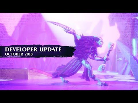 DEVELOPER VLOG: October Update (1.1.0)