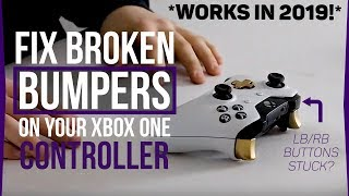 how to fix the rb button on your xbox one elite controller - ฟรี