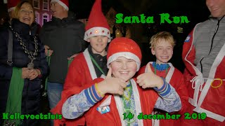 De Santa Run in Hellevoetsluis – 14 december 2019