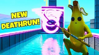 CIZZORZ TRIES SUBSCRIBER DEATHRUN! (Fortnite Creative Mode DeathRun)
