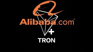 Alibaba partners with TRON? (TRX)  to the moon! top 5 Crypto 2018