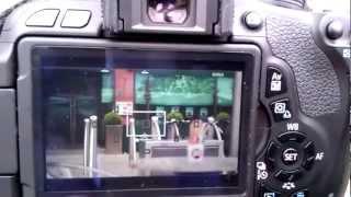 Canon 600d  t3i focus