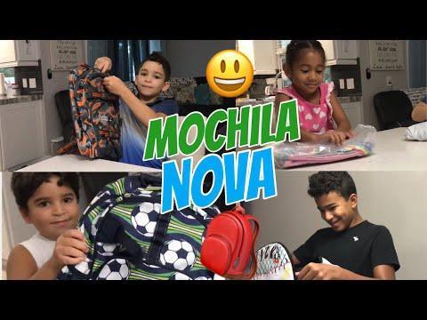 MATERIAL ESCOLAR | MOCHILA NOVA