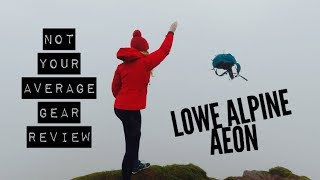 Lowe Alpine Aeon backpack - Extreme Testing and Review