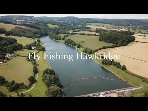 Mid Season Fly Fishing Tactics at Hawkridge - Fly Fishing a small reservoir from the boat.