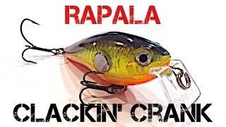 Воблер rapala clackin crank cnc74