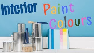 How To Pick The BEST PAINT COLORS For The Interior Of Your House