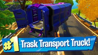 Locate A Trask Transport Truck Location (Week 5 Wolverine) - Fortnite