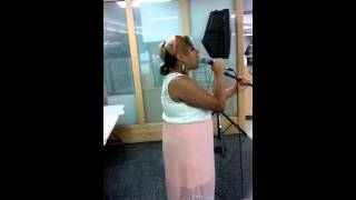 """Me singing """"Dixie Chicks' 'I Can Love You Better'"""""""