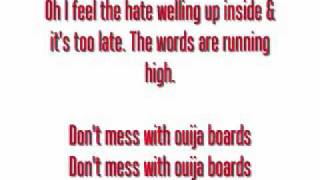 Don't Mess With Ouija Boards - Falling in Reverse (lyrics onscreen)