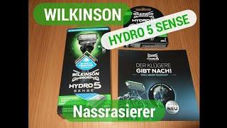 Wilkinson Hydro 5 Sense Unboxing