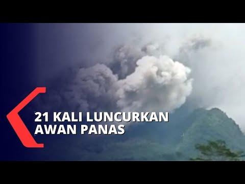 Aktivitas Gunung Merapi Terus Meningkat dan Keluarkan Awan Panas Guguran Tebal!