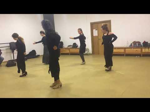 Curso de flamenco ,Mercedes de Cordoba