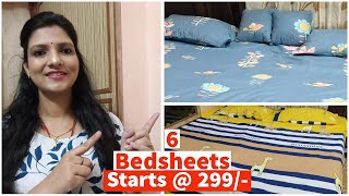 Affordable Bedsheet Collection Starting @Rs. 249/-