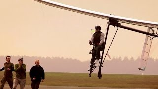 Flying Bicycle Success! (Part 2) | Bang Goes the Theory | BBC