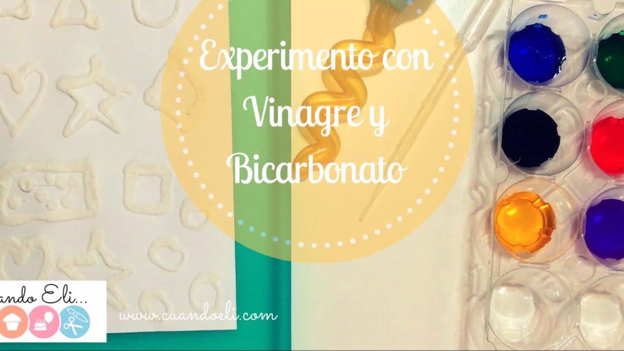 Experimento con Vinagre y Bicarbonato
