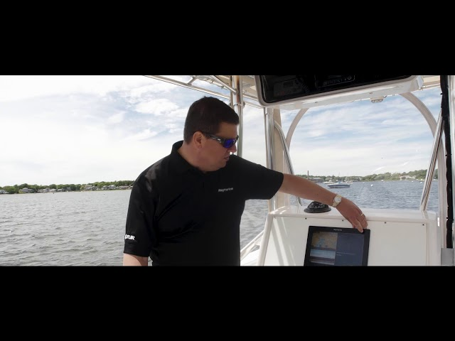 Raymarine LightHouse 3 Tips and Tricks: Changing the Split Screen Ratio
