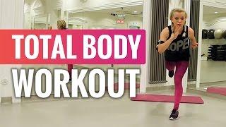 TOTAL BODY - pełny trening! | Codziennie Fit