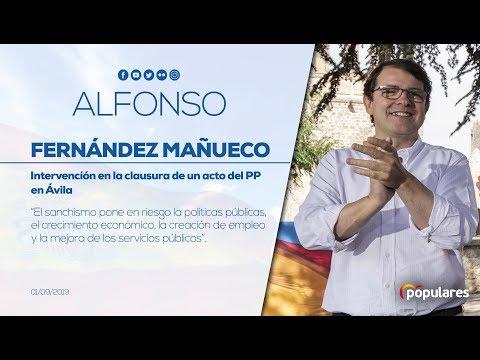 """Alfonso Fernández Mañueco: """"La mejor palabra que define a nuestro país, ahora, es la incertidumbre"""""""