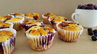 How to Make Blueberry and Ricotta Muffins