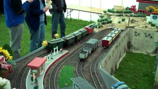 preview picture of video 'Merstham Model Steam Show 2012'