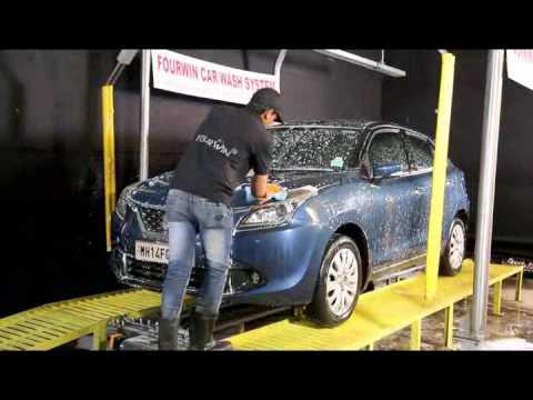FourWin Automatic Car Washing System