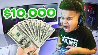 I PAID ADDICTED KID $10,000 TO STOP PLAYING FORTNITE FOREVER! YOU WONT BELIEVE WHAT HE CHOSE!