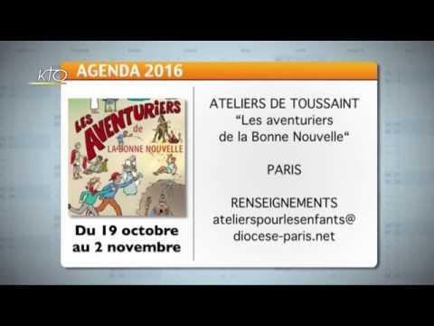Agenda du 17 octobre 2016