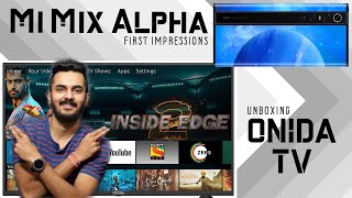 Mi Mix Alpha First Impressions | Onida TV Unboxing | TVT Weekly