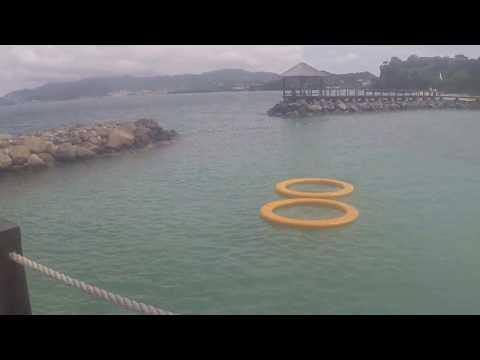 Sandal LaSource Grenada Pink Gin Beach 360 Pan