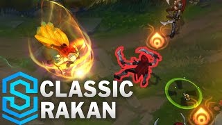 Classic Rakan, the Charmer - Ability Preview - League of Legends