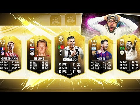 OMG YES! MY BEST FUT DRAFT! FIFA 19 Ultimate Team