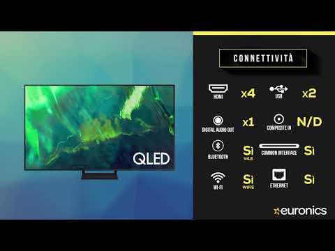 """SAMSUNGTV QLED 4K 75"""" QE75Q70A Smart TV Wi-Fi  2021Titan Gray"""