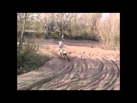 Motorcross training in Boxmeer