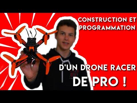 Construction d\'un DRONE RACER HAUT DE GAMME - Montage/Programmation ! Tramp HV - Matek f405