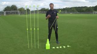 Pro Speed & Agility Set - Versatile Coaching Tools in 1 Easy Pack