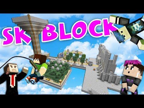 CO VŠECHNO JSME UDĚLALI? | SkyBlock #5 w/ Wedry, Bax, MenT