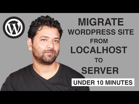 video tutorial on Migrate Wordpress Website In 5 Easy Steps Under 10 minutes