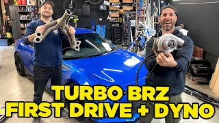 TURBO BRZ! First Drive and DYNO POWER