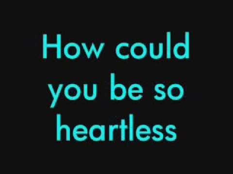 Heartless  Kanye west lyrics