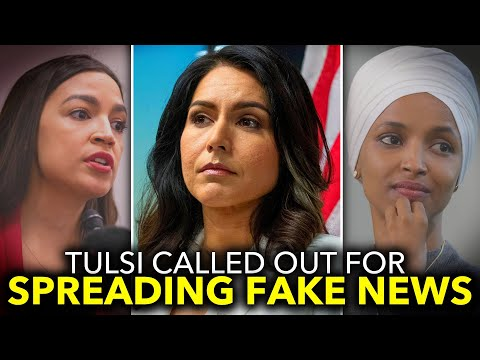 Tulsi Gabbard Apologizes to Ilhan Omar After Ocasio-Cortez Calls Her Out