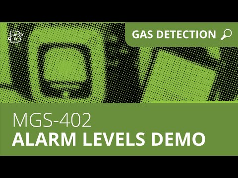 MGS-402 | Alarm Levels Demonstration