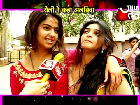 Farewell of Avika Gor in Sasural Simar Ka.