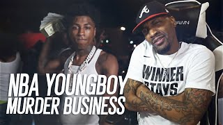 NBA YoungBoy - Murder Business (REACTION!!!)