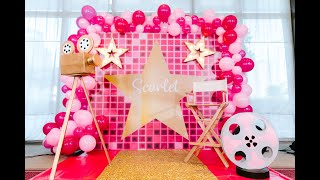 Hollywood Themed Party By Party Dish- Event Styling