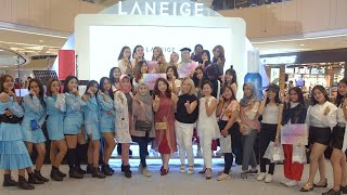 GLITZMEDIA.CO dan LANEIGE Menyapa Sparkling Squad Surabaya dalam LANEIGE Unleash Your Beauty 2019