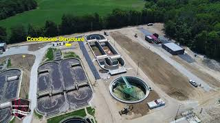 Town Of Brownsburg Waste Water Treatment Plant Progress Update