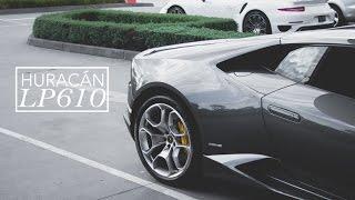 preview picture of video 'Lamborghini Huracán LP610-4 in Melbourne, Australia.'