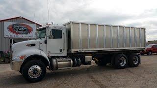 2016 Peterbilt 348 Grain Truck