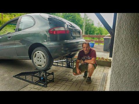 Auffahrrampen mit hydraulischer Höhenverstellung